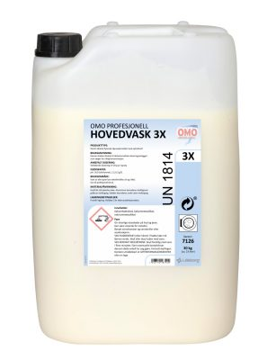 Omo Profesjonell Hovedvask 3X 7126